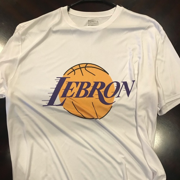more photos 28580 51a0d Lebron Lakers shirt from amazon, nylon